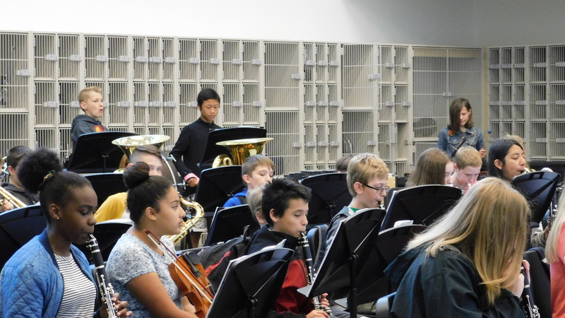 Ridgefield Band Class Hits The Right Notes