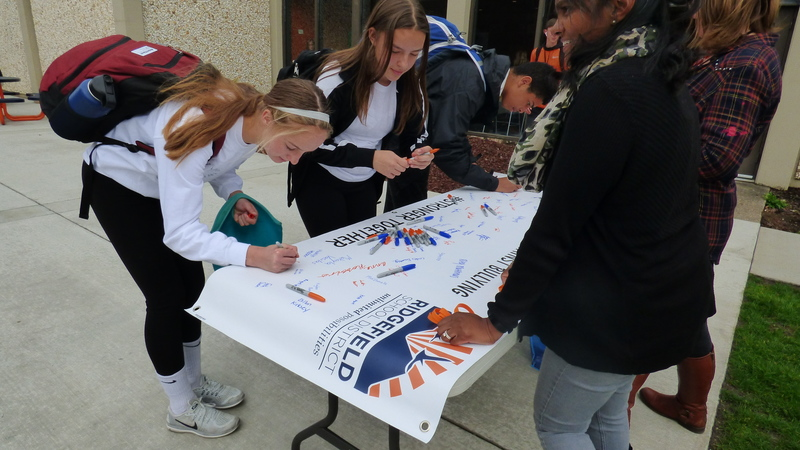 Ridgefield Students Show Support Against Bullying