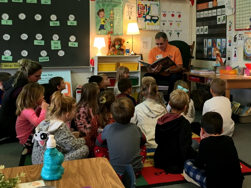 Union Ridge Elementary Celebrates Successful Read-a-Thon