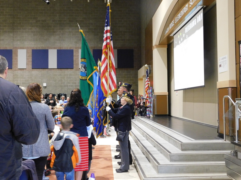 Ridgefield School Assemblies Honor Veterans