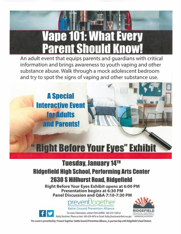 """Right Before Your Eyes"" Interactive Exhibit Raises Vaping Awareness for Parents"